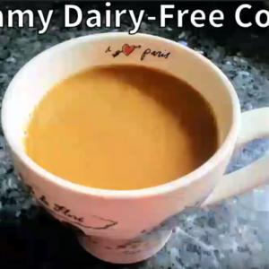 Creamy Dairy-Free Coffee