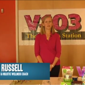 Get Fit & Be Healthy – V-103 Radio with Caitlin Russell MS, RDN, LD
