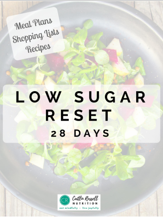 Low Sugar Reset Ebook